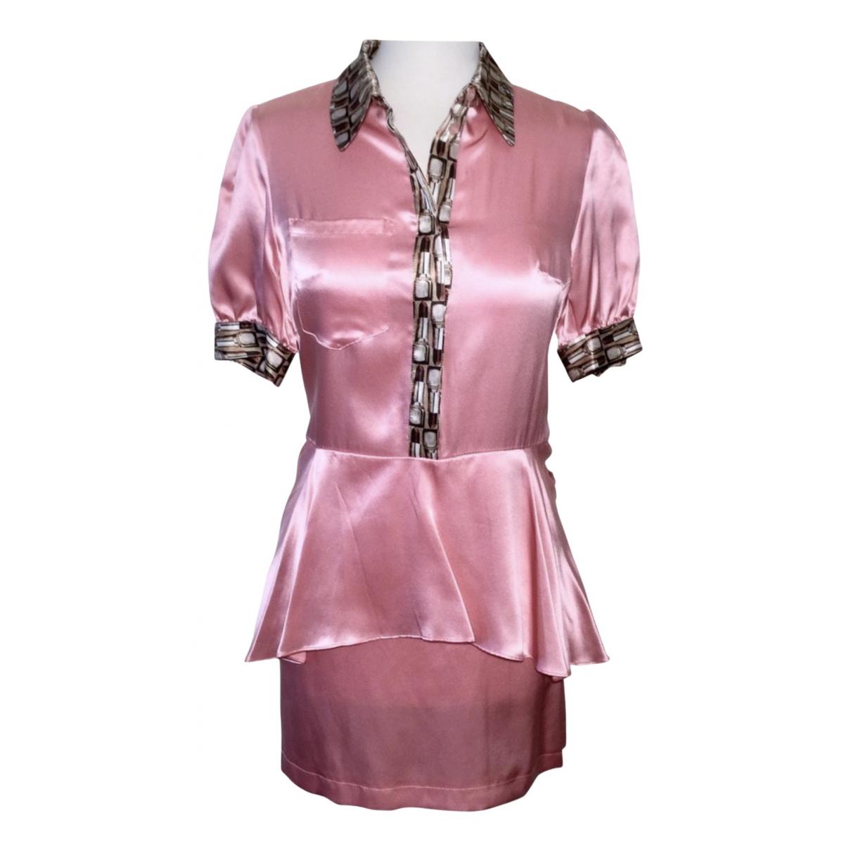 Roberto Cavalli - Robe   pour femme - rose