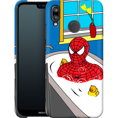 Huawei P20 Lite Smartphone Huelle - Bathing Hero von Mark Ashkenazi