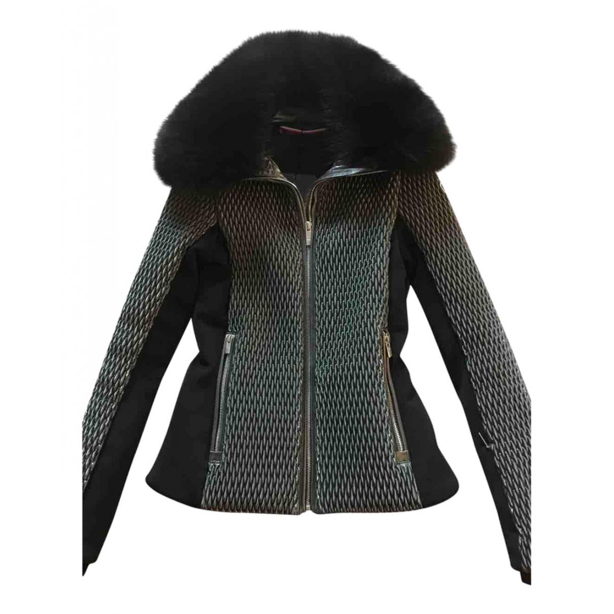 Fusalp - Veste   pour femme en renard - argente