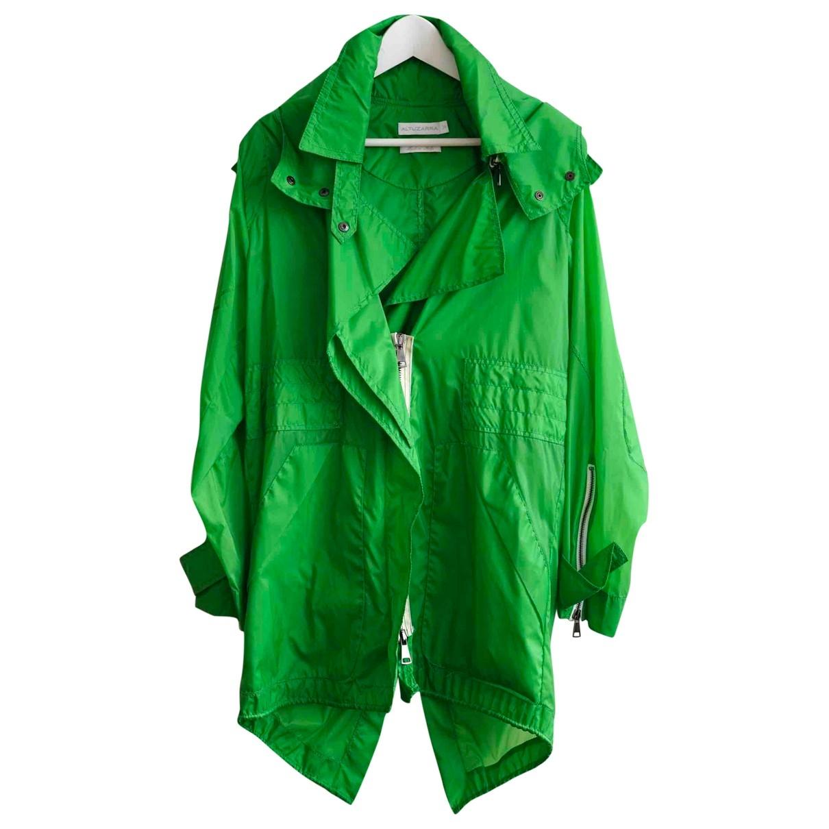 Altuzarra \N Green coat for Women 34 FR