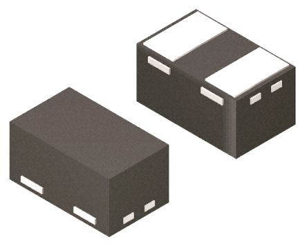 STMicroelectronics ESDA8P30-1T2, Uni-Directional ESD Protection Array, 300W, 2-Pin SOD882T (12000)