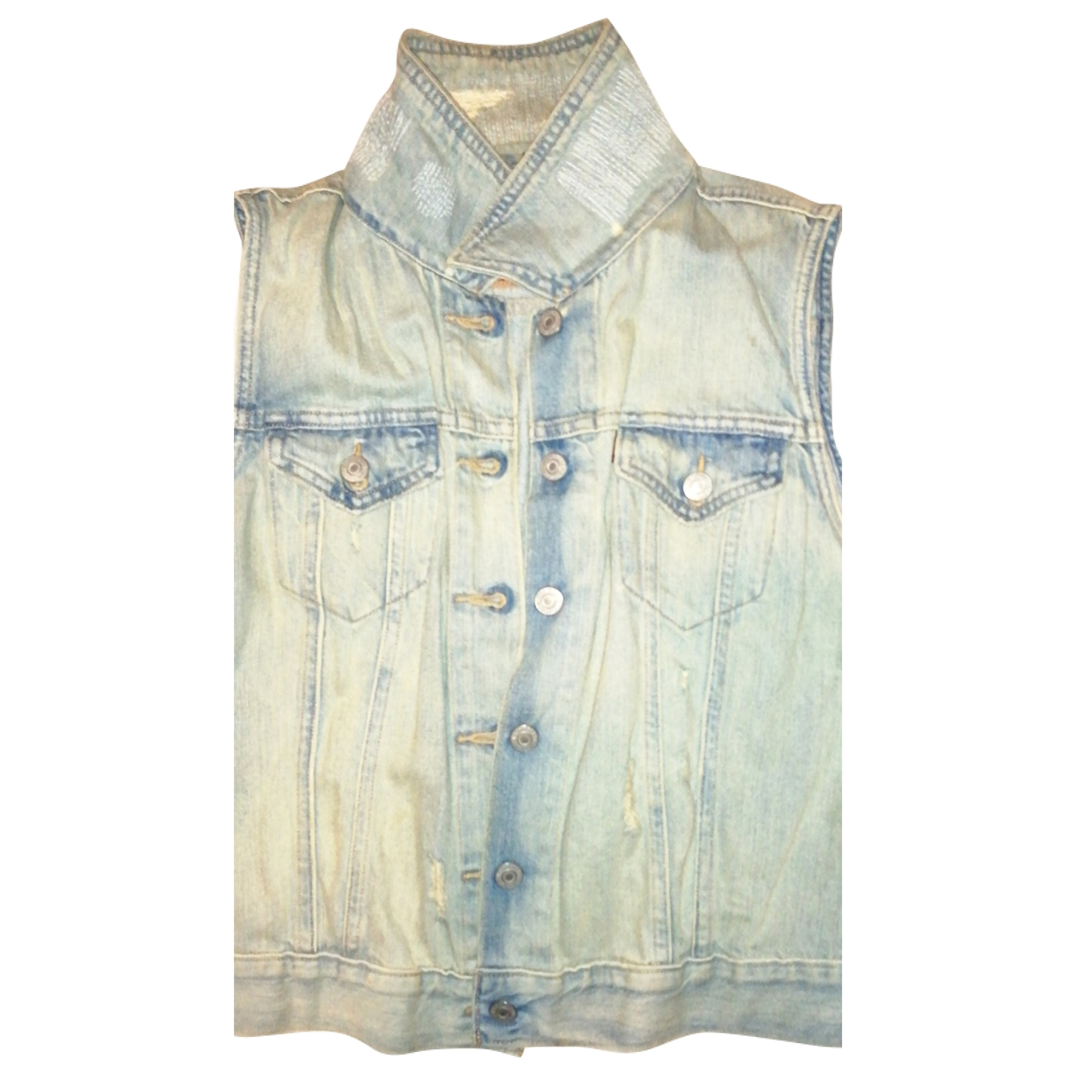 Levis \N Jacke in  Blau Denim - Jeans