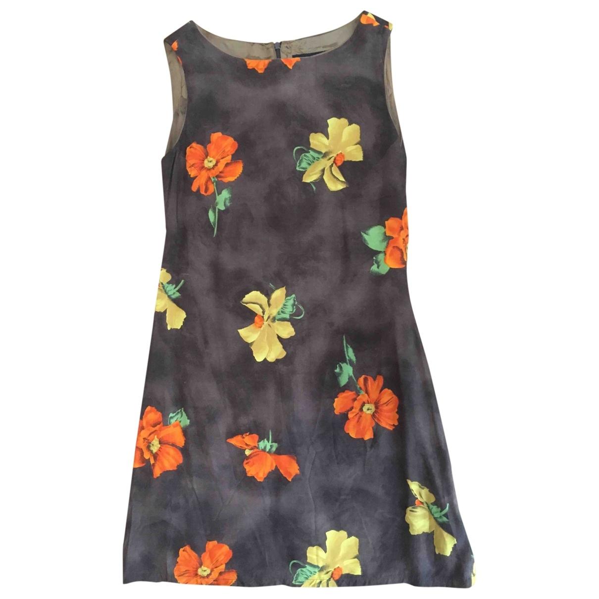 Zara - Robe   pour femme en coton - marron