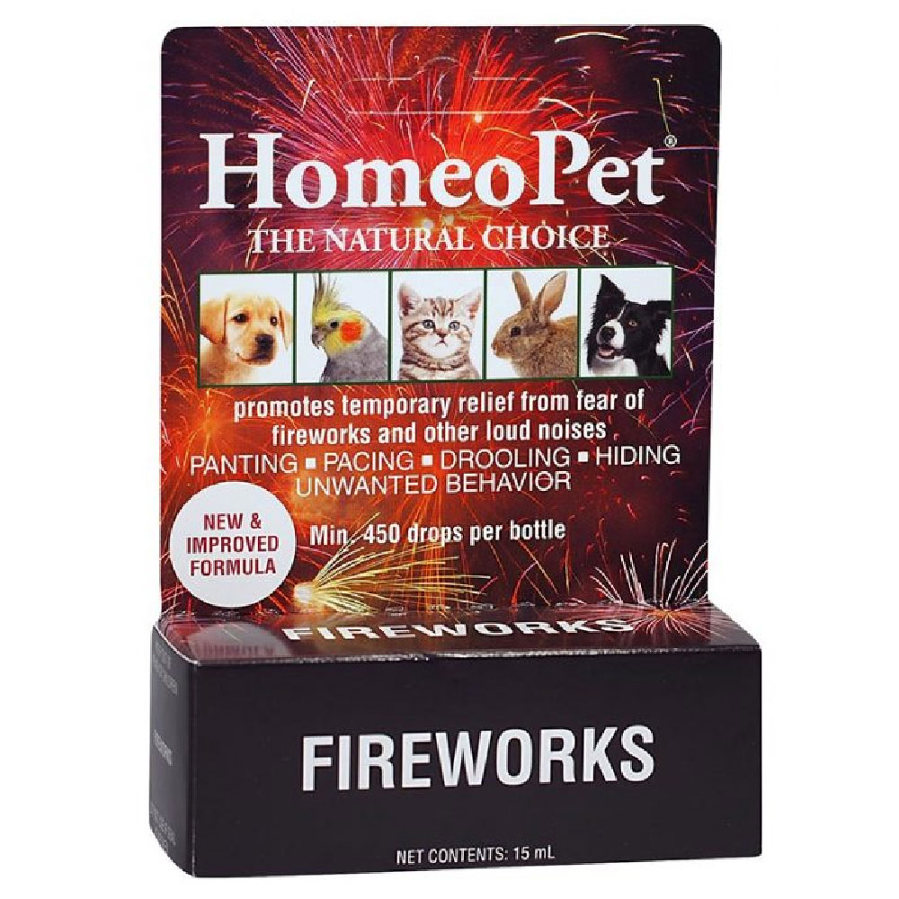 HomeoPet Fireworks (15 mL)