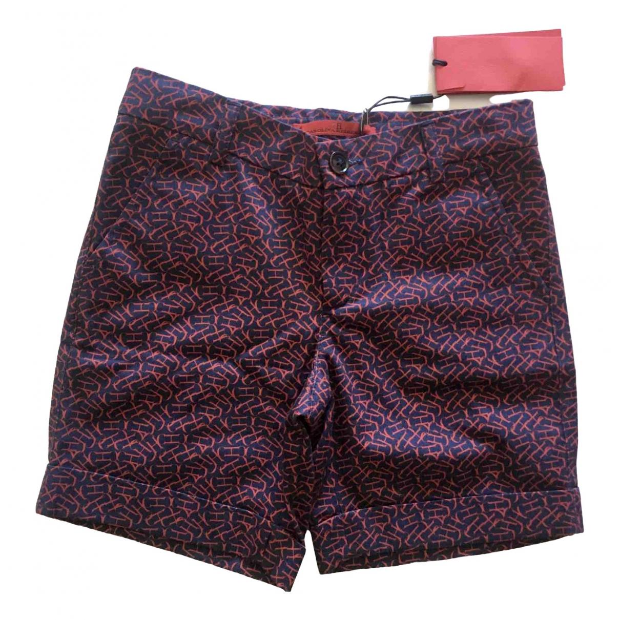 Carolina Herrera - Short   pour enfant en coton - marine