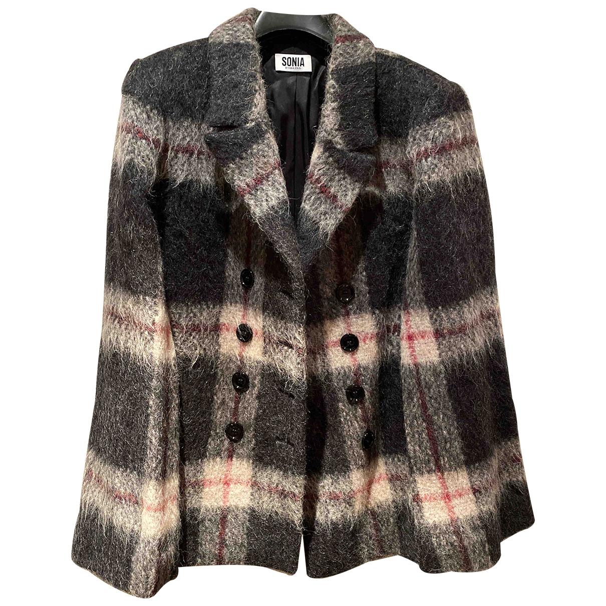 Sonia By Sonia Rykiel - Veste   pour femme en laine - anthracite
