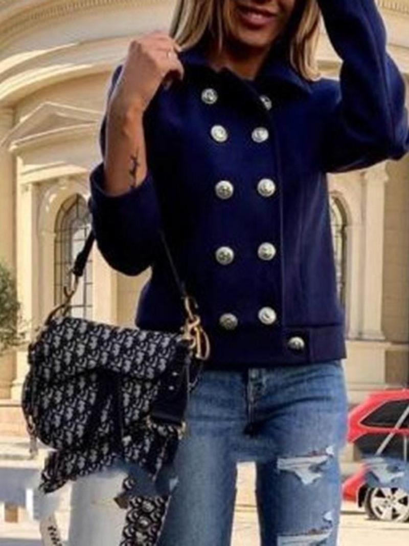 Ericdress Nine Points Sleeve Slim Standard Lapel Women's Jacket