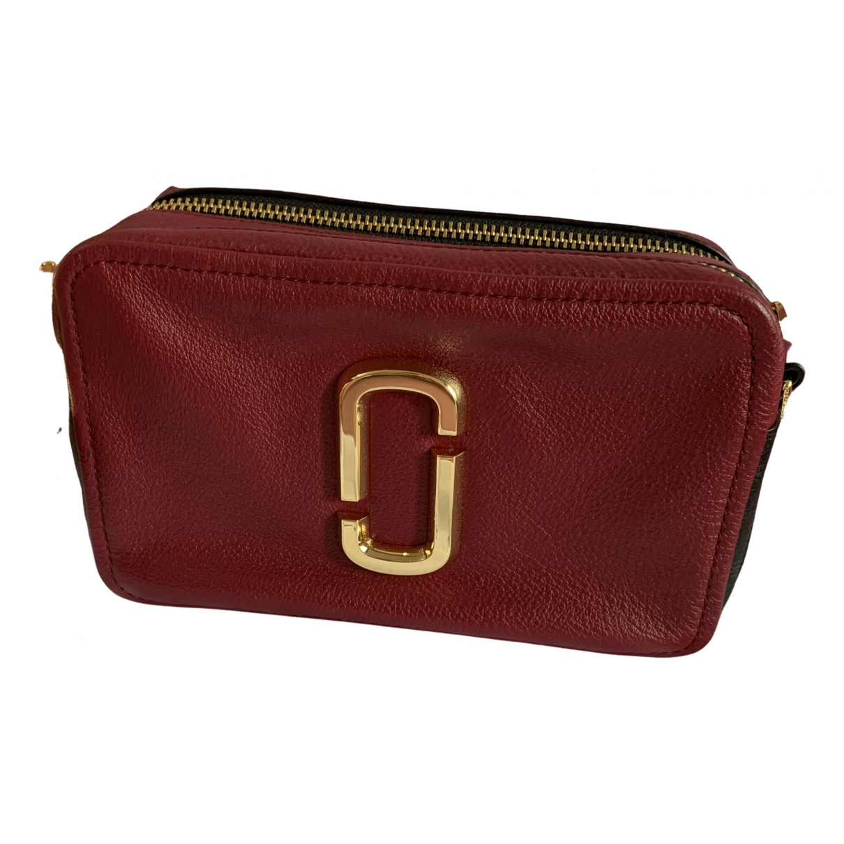 Marc Jacobs Snapshot Burgundy Leather handbag for Women N