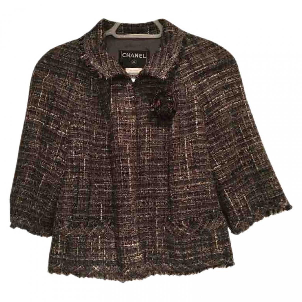 Chanel \N Multicolour Tweed jacket for Women 42 FR