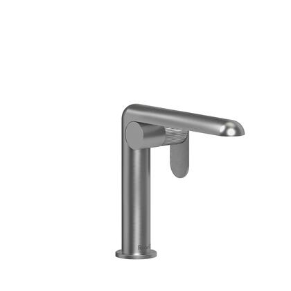 Ciclo CIS00LNBC-05 Single Hole Lavatory Faucet with Lined Textured Handle 0.5 GPM  in Brushed