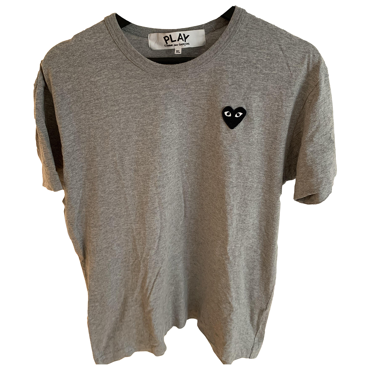 Play Comme Des Garcons \N T-Shirts in  Grau Baumwolle