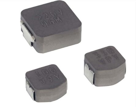 KEMET , MPLCV, SMD Wire-wound SMD Inductor with a Metal Alloy Core, 10 μH ±20% 7.1 A, 12 A Idc (1000)