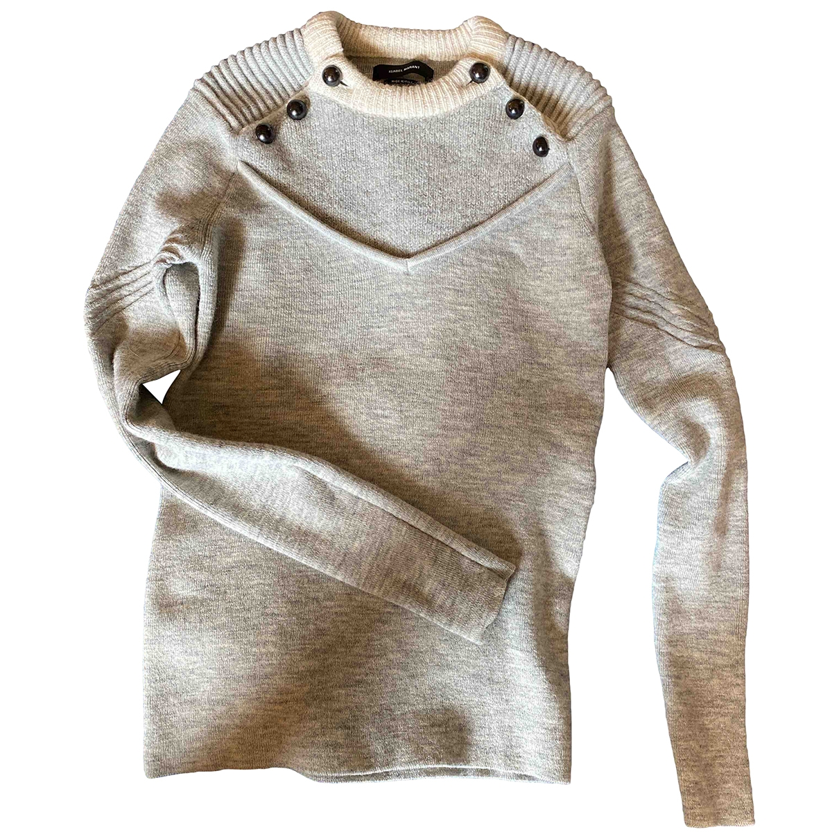 Isabel Marant \N Grey Wool Knitwear for Women 38 FR
