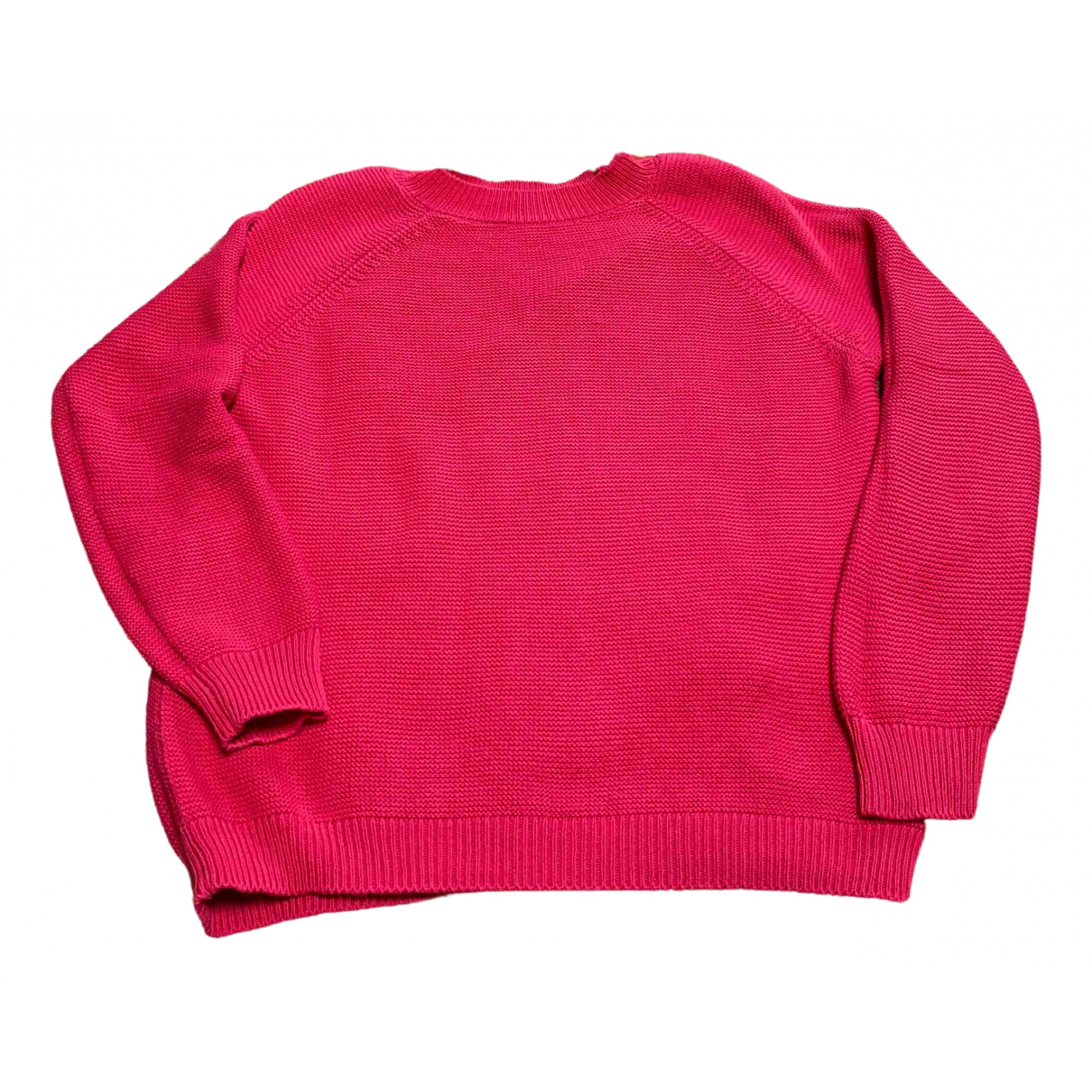 Max Mara Weekend - Pull   pour femme en coton - rose