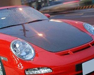 Advan Carbon BKP904-AC3912HC OEM Style Carbon Fiber Hood Porsche 997 All Models 2005-2012