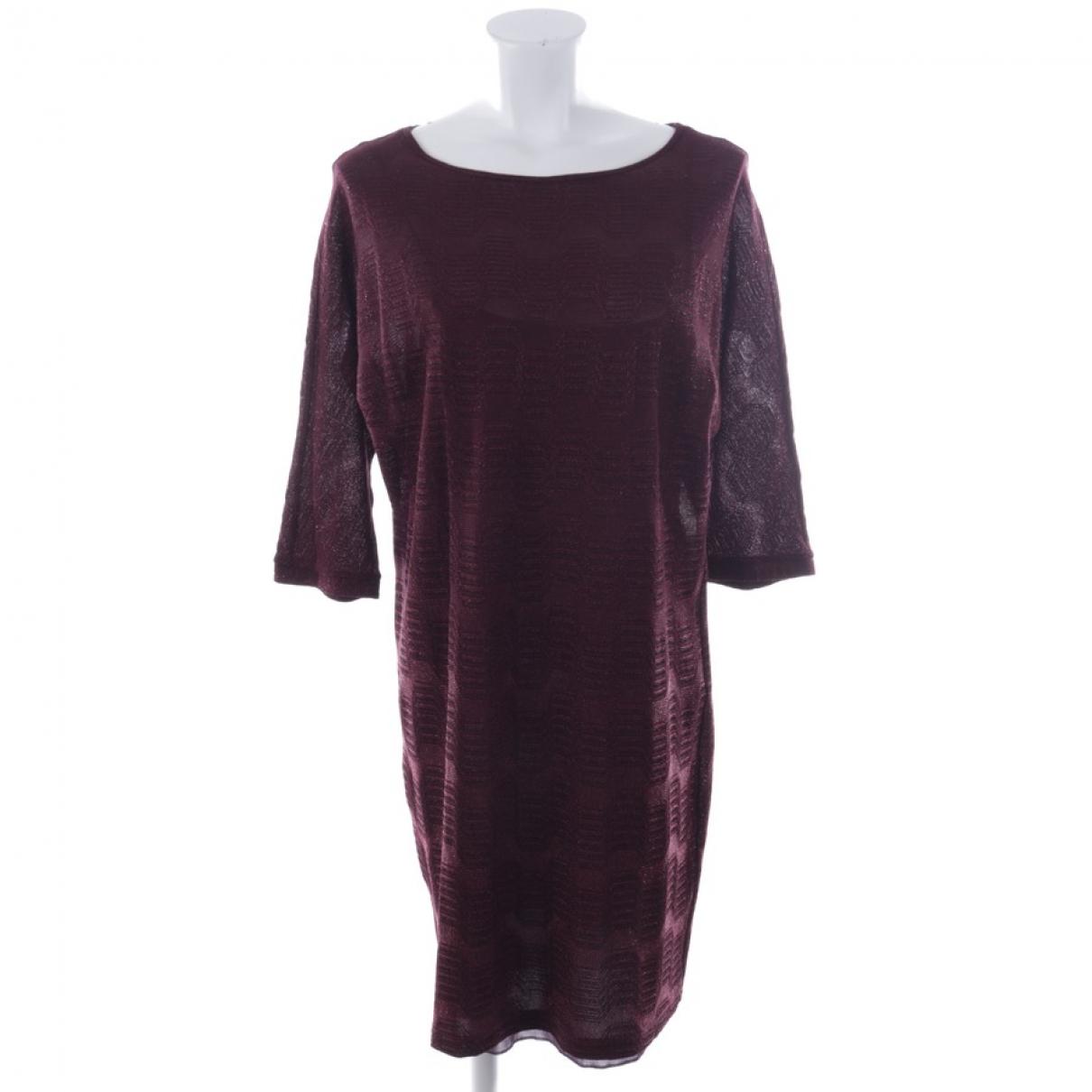 M Missoni - Robe   pour femme - rouge