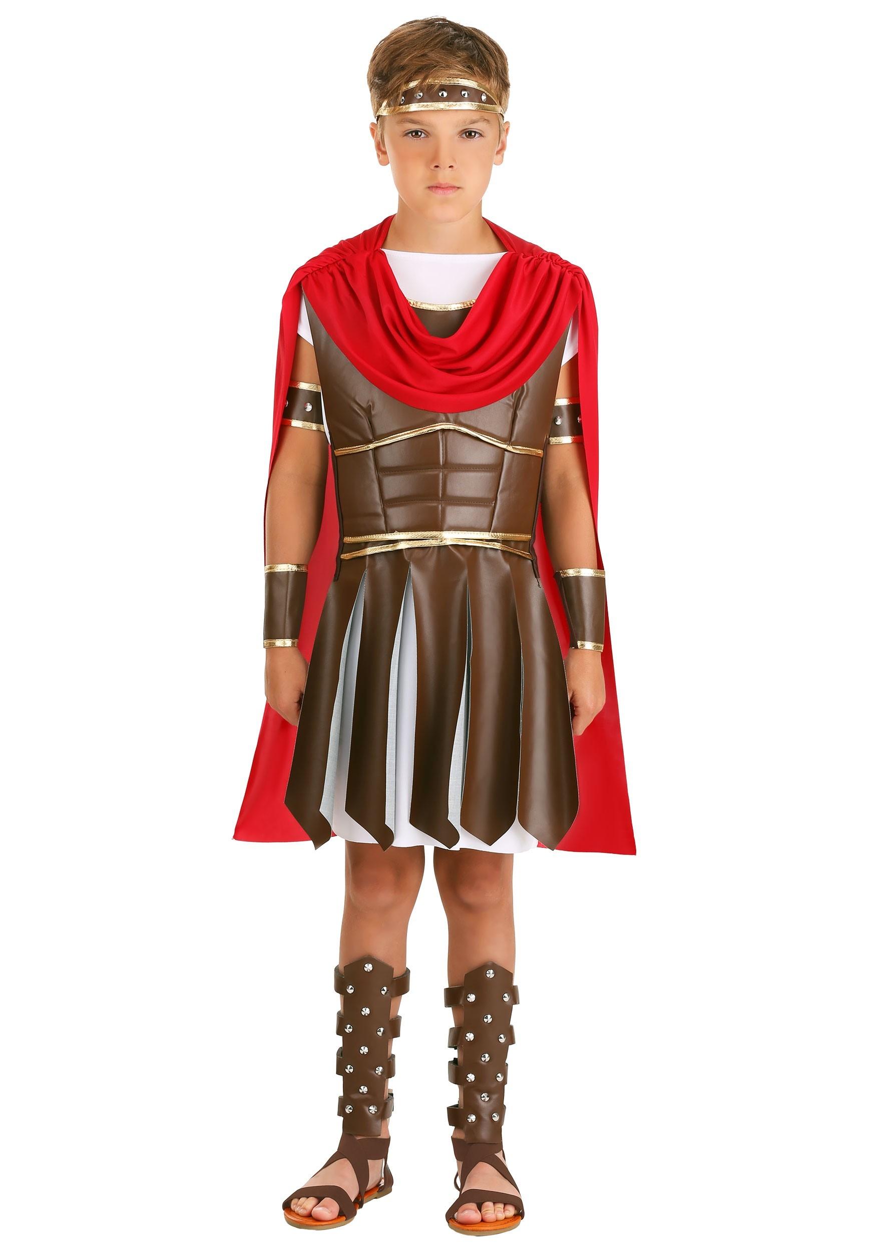 Roman Warrior Costume for Boys