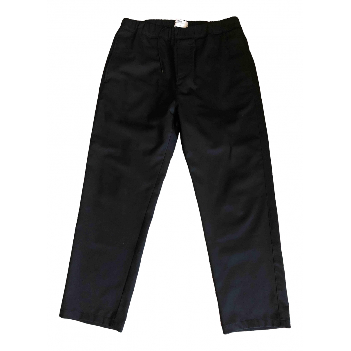 Oamc \N Black Trousers for Men S International