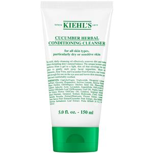 Kiehls Nettoyage Cucumber Herbal Creamy Conditioning Cleanser 150 ml
