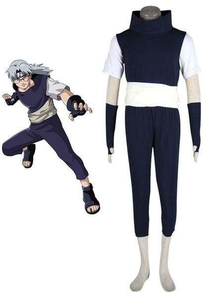 Milanoo Naruto Yakushi Kabuto Halloween Cosplay Costume