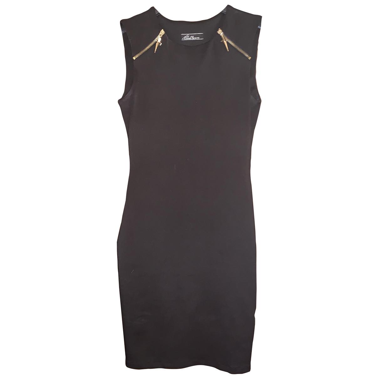 Cesare Paciotti \N Kleid in  Schwarz Polyester