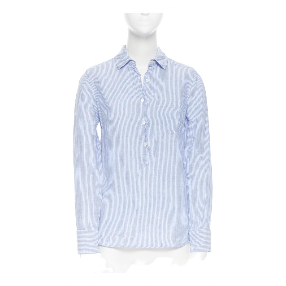 J.crew \N Blue Linen  top for Women 36 IT