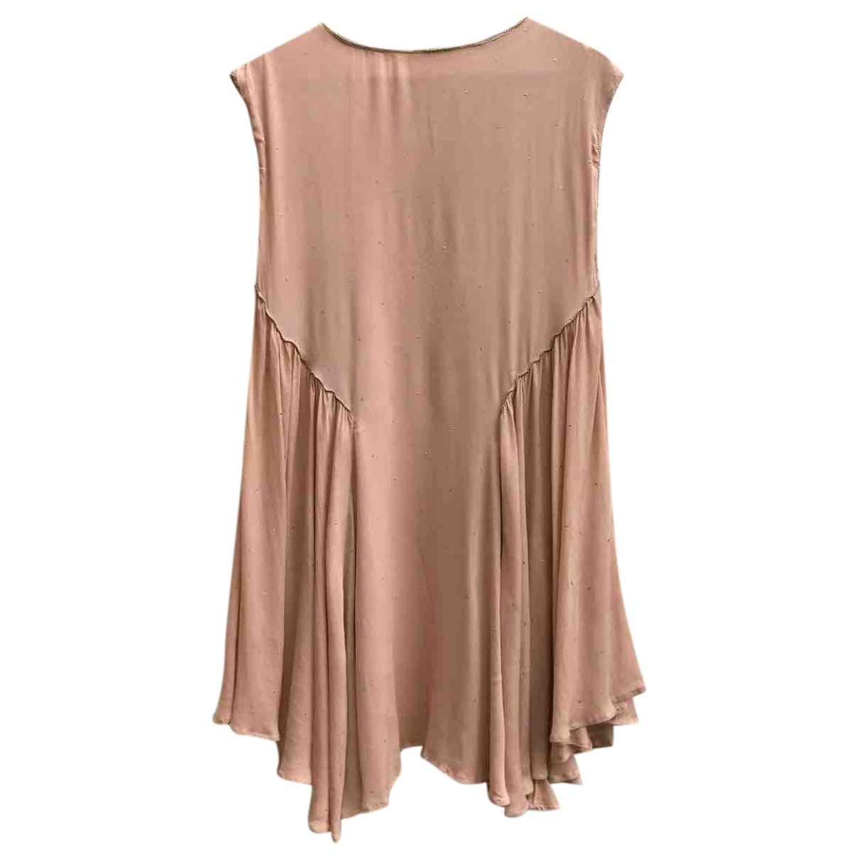 Hoss Intropia \N Kleid in  Rosa Seide