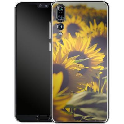 Huawei P20 Pro Silikon Handyhuelle - Sunflower 2 von Joy StClaire
