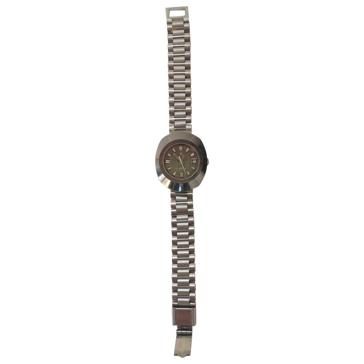 Rado \N Uhr in  Silber Stahl