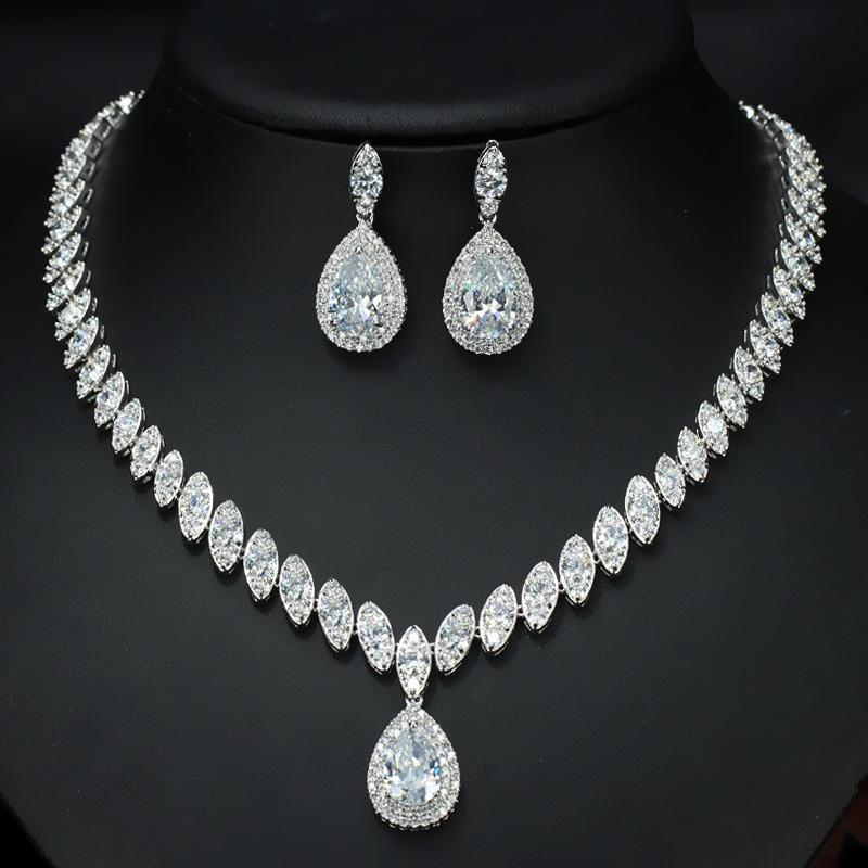 Earrings Diamante European Jewelry Sets (Wedding)