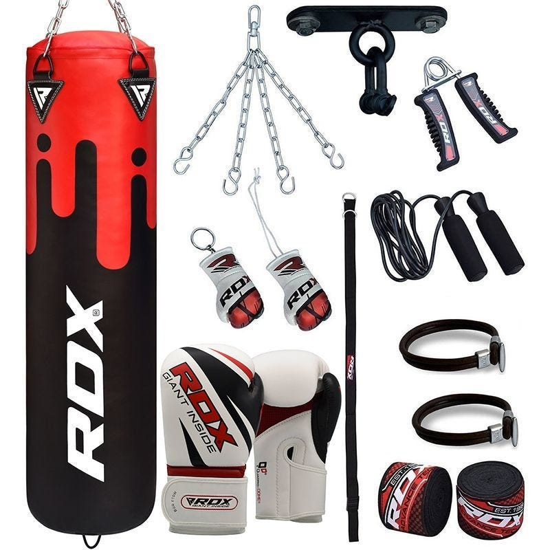 RDX F9 13pc Boxsack and Handschuhe Heim gym Set