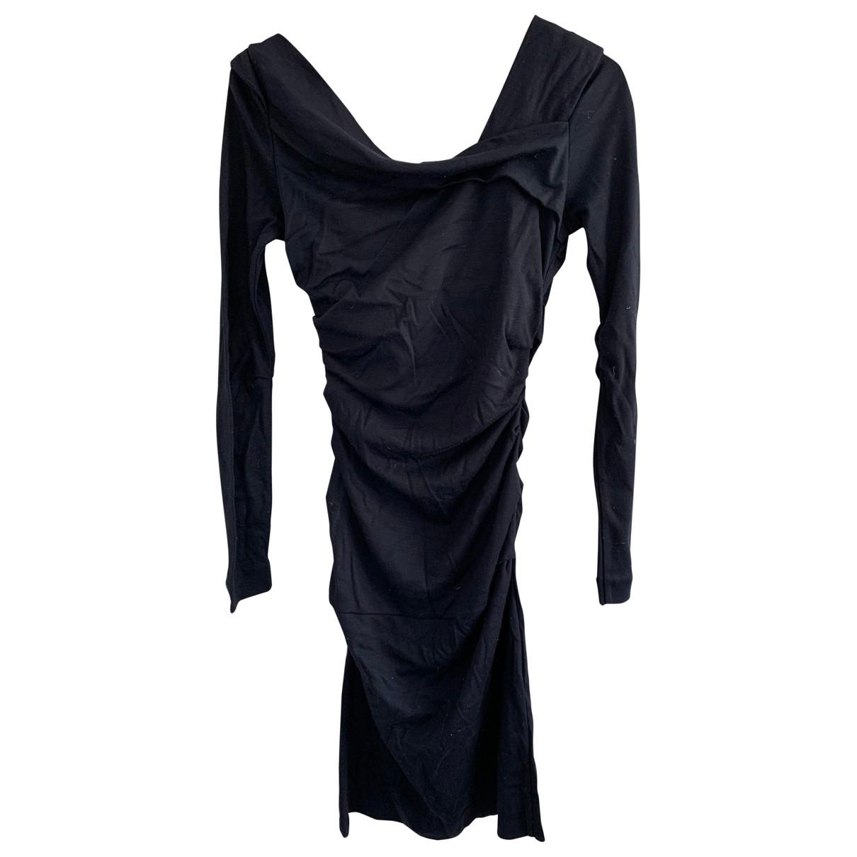 Diane Von Furstenberg - Robe   pour femme en laine - marine