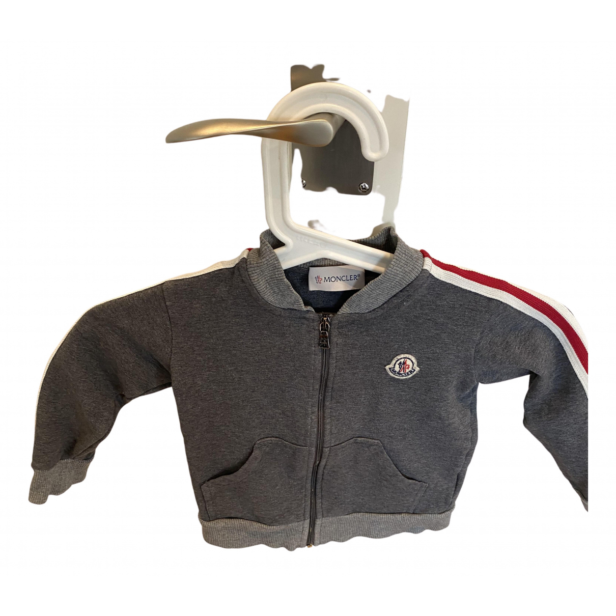 Moncler N Grey Cotton jacket & coat for Kids 2 years - up to 86cm FR