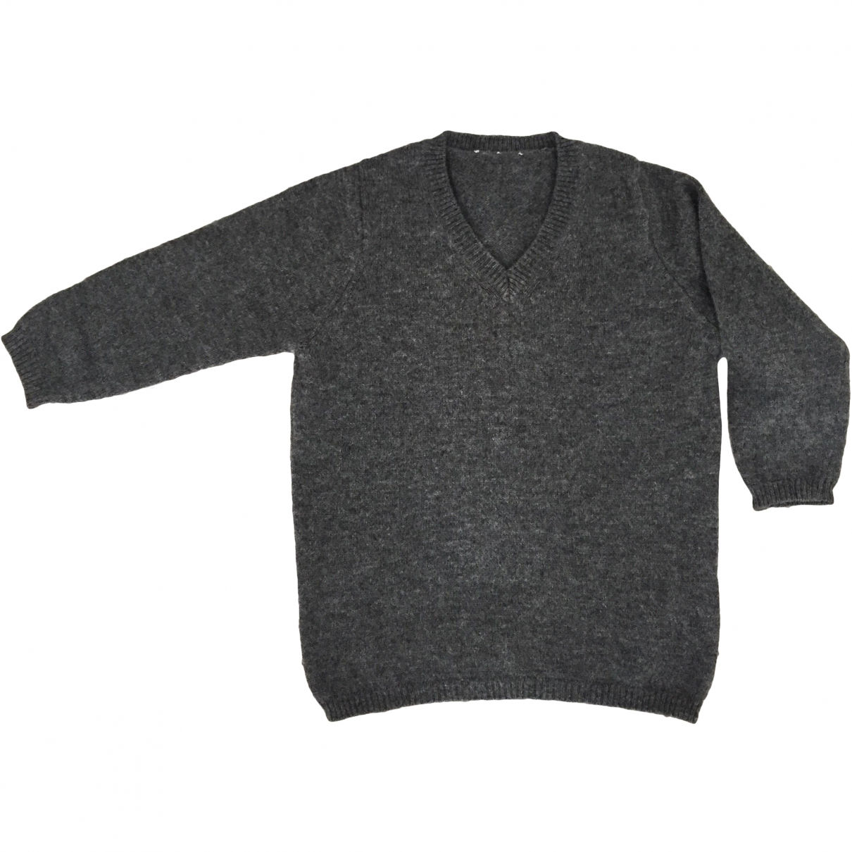 Non Signé / Unsigned \N Anthracite Cashmere Knitwear for Kids 12 months - up to 74cm FR