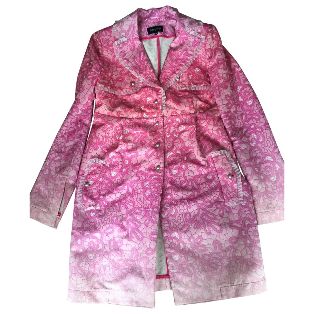 Patrizia Pepe - Manteau   pour femme - rose