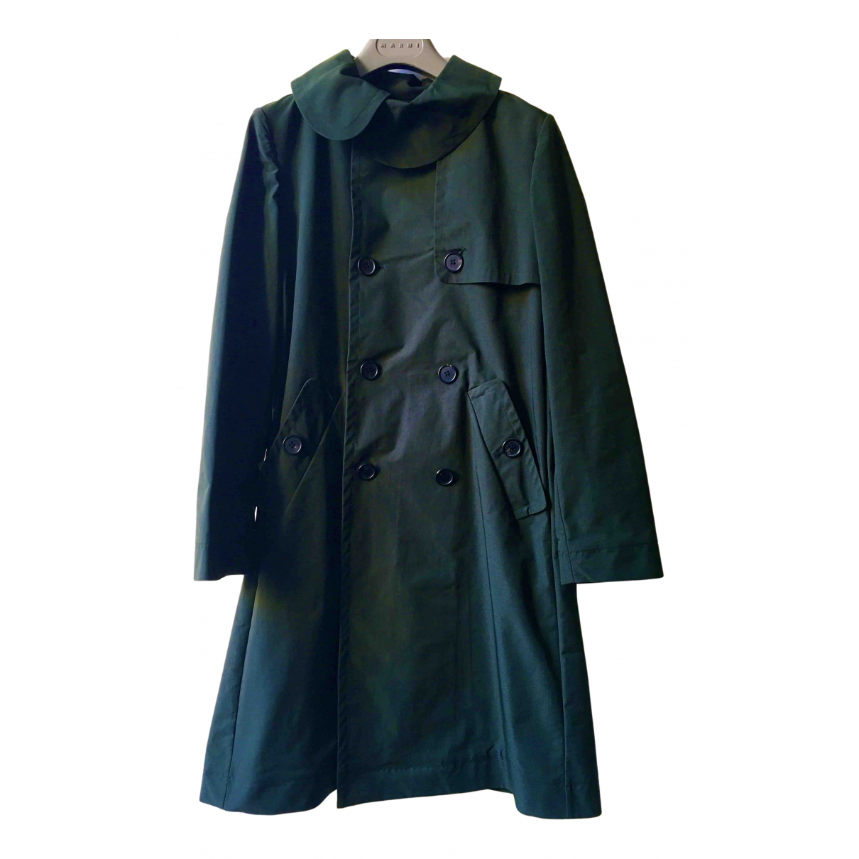 Marni N Green Trench coat for Women 38 IT