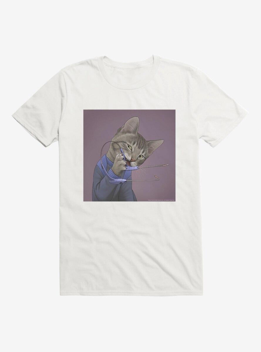 Star Trek The Next Generation Cats Communicator T-Shirt