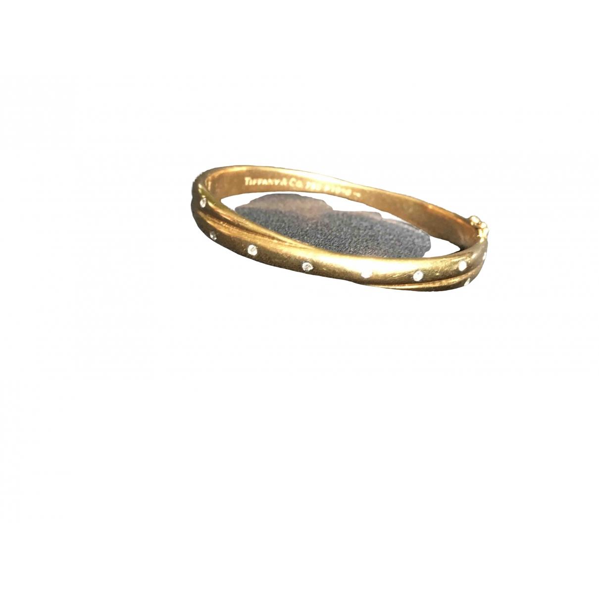 Tiffany & Co - Bracelet   pour femme en or jaune - jaune