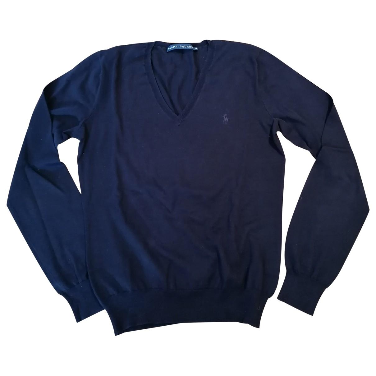 Ralph Lauren \N Pullover in  Blau Baumwolle