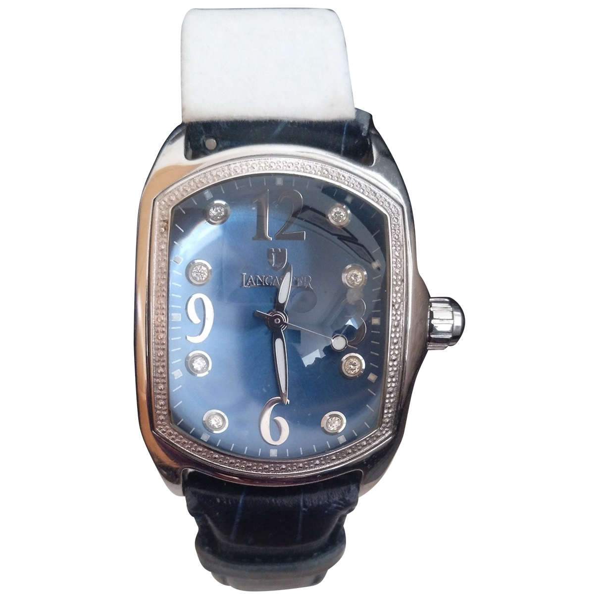 Lancaster \N Uhr in  Blau Stahl