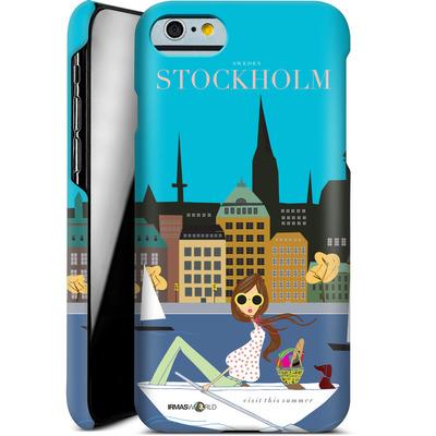 Apple iPhone 6s Smartphone Huelle - STOCKHOLM TRAVEL POSTER von IRMA