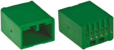 JAE , IL-AG5, 5 Way, 1 Row, Straight PCB Header