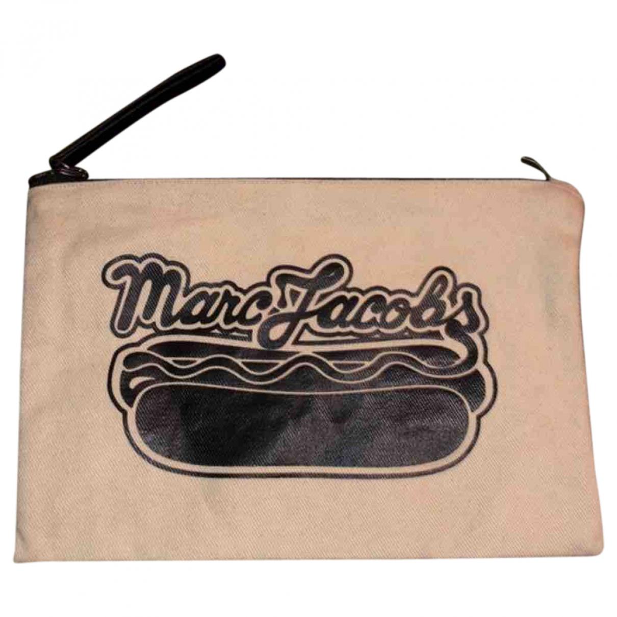 Marc Jacobs - Pochette   pour femme en coton - beige