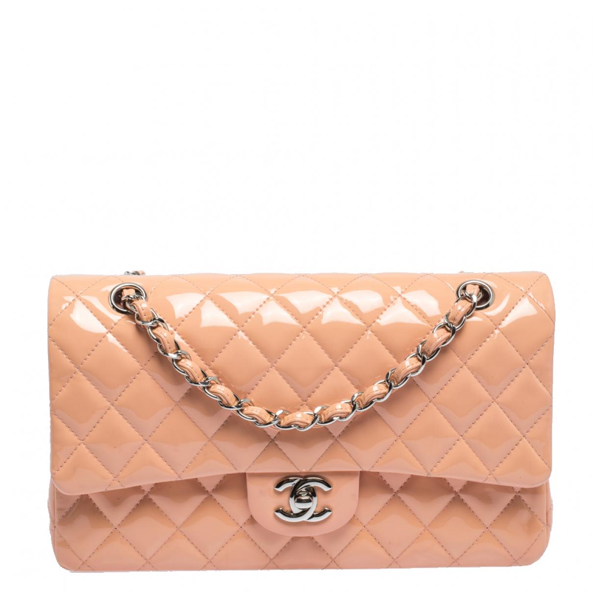 Chanel N Pink Leather handbag for Women N