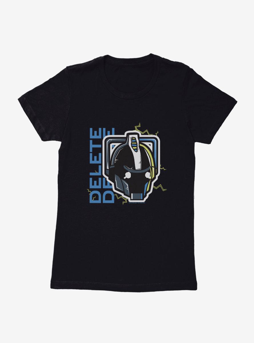 Doctor Who Cybermen Delete Womens T-Shirt