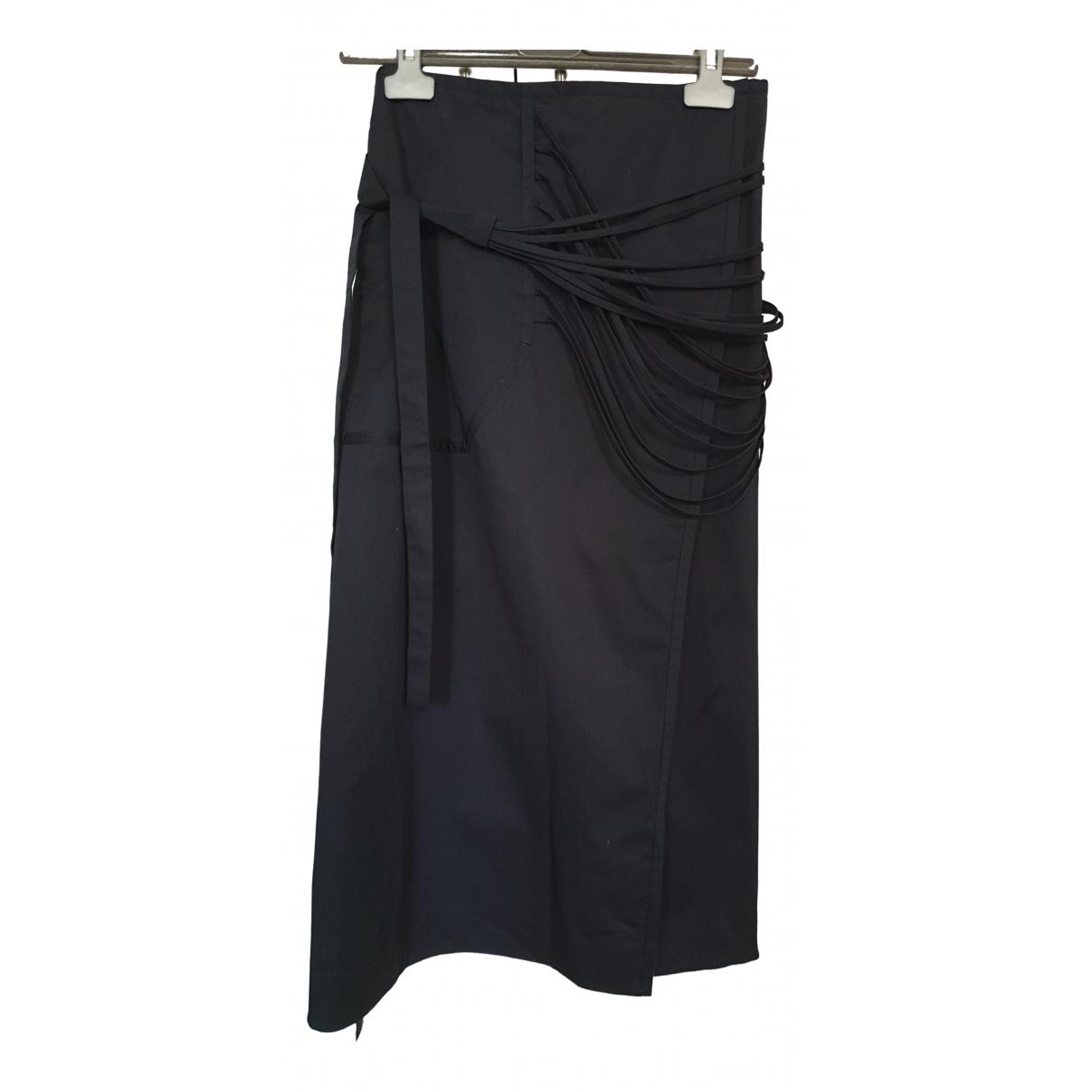 Calvin Klein 205w39nyc - Jupe   pour femme en coton - elasthane - marine