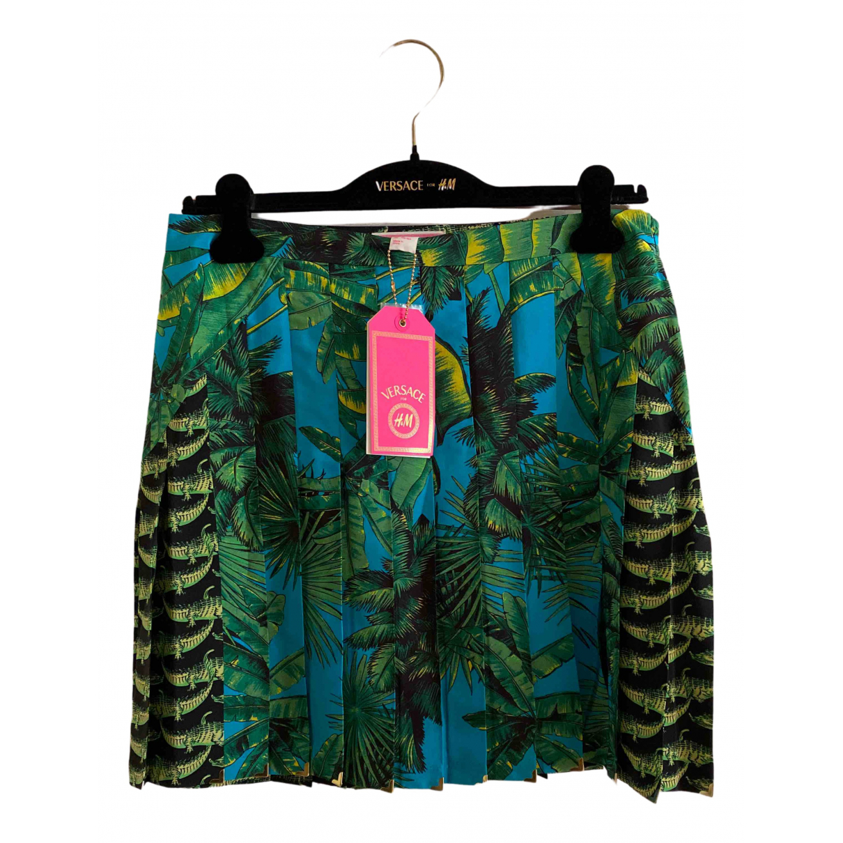 Mini falda de Seda Versace X H&m