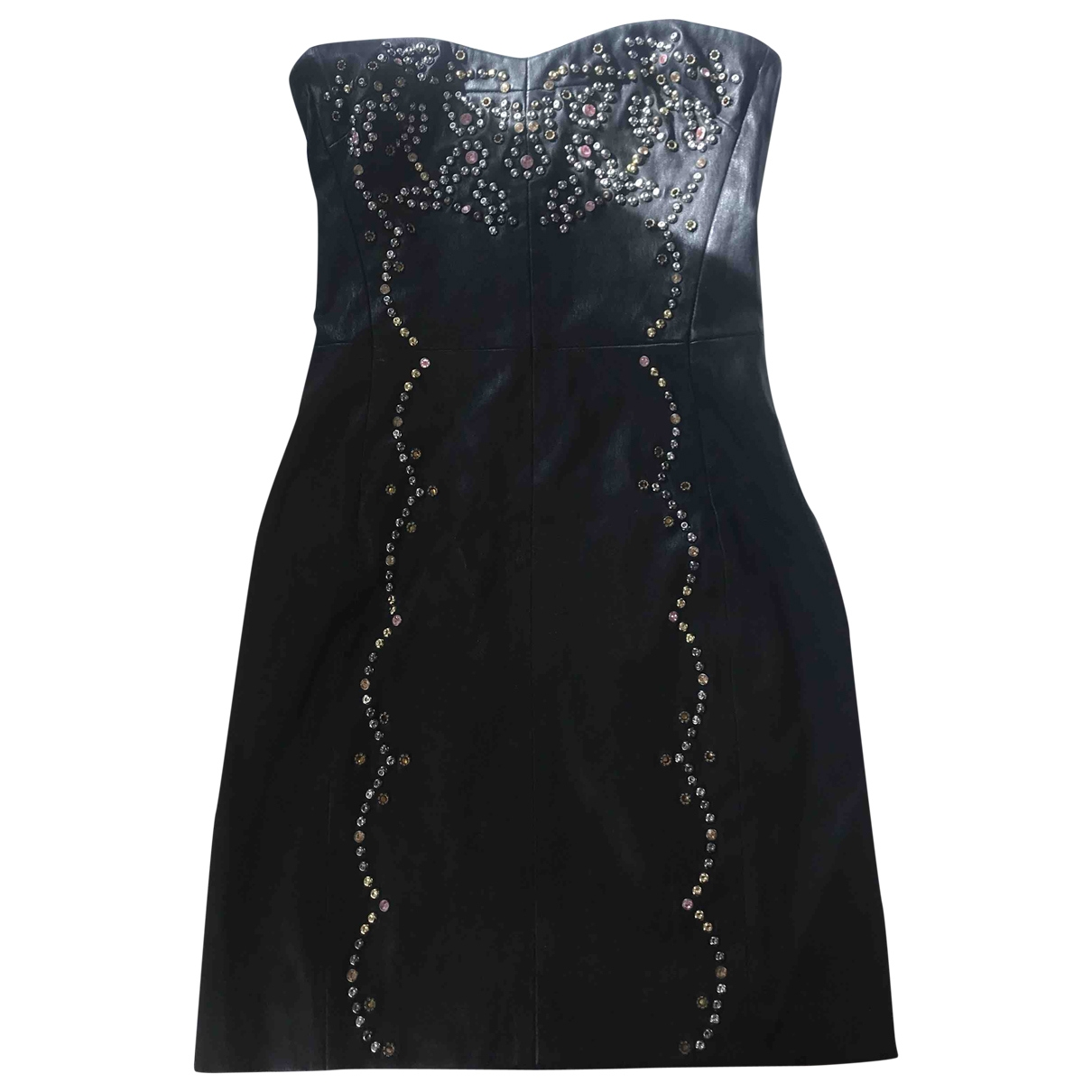 Isabel Marant \N Black Leather dress for Women 34 FR