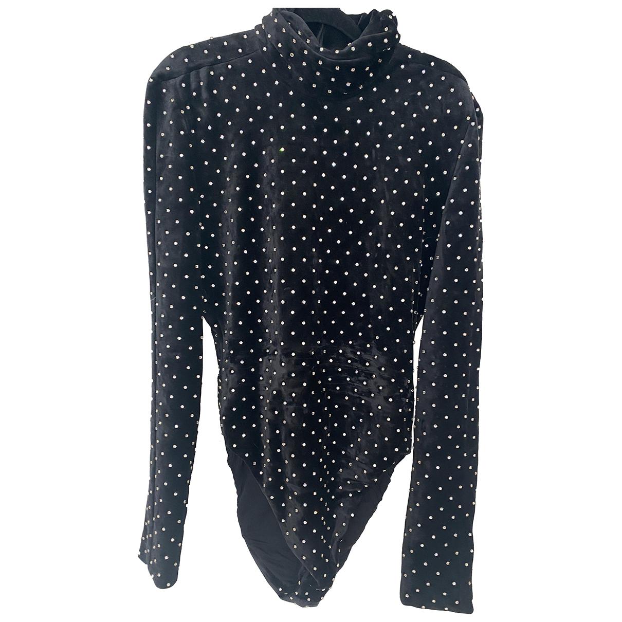 Saint Laurent N Black Velvet dress for Women 42 FR