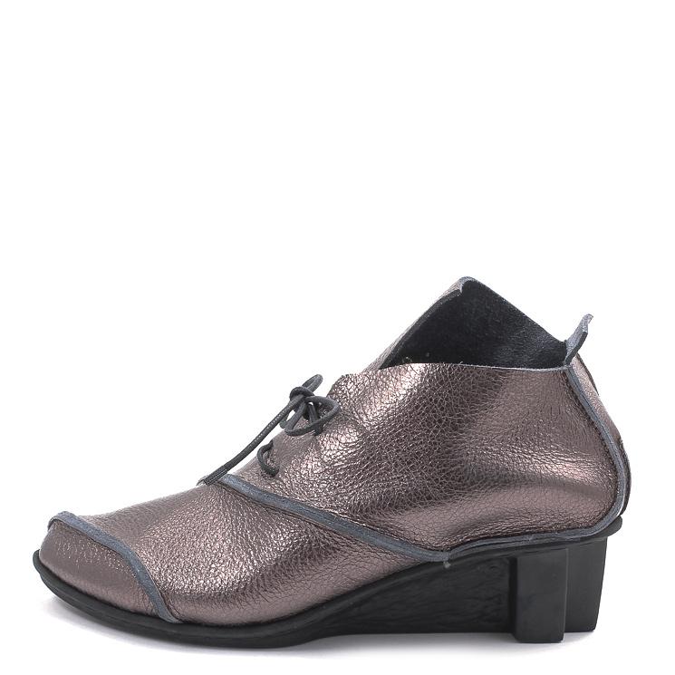 Trippen, Rain x+os Women's Lace-up Shoes, metal Größe 41